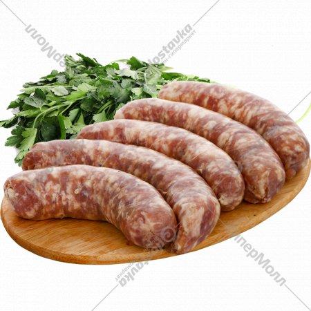 Колбаса сырая из свинины «Боярская», охлажденная, 1 кг., фасовка 0.75-0.85 кг
