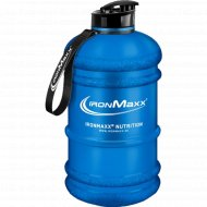 Фляга для питья «IronMaxx» синяя, 2200 мл.