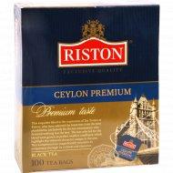 Чай черный «Riston» 100 пакетиков.