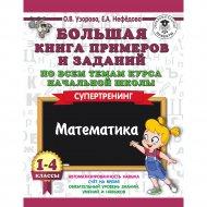 Книга «Большая книга примеров и заданий по всем темам. 1-4 классы».