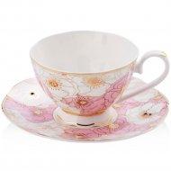 Чашка с блюдцем «Home&You» 52664-MIX-FIL