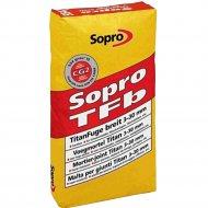 Фуга «Sopro» TFb 557, бетонно-серая, 25 кг