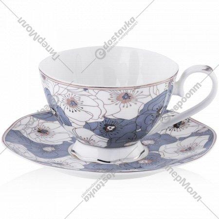 Чашка с блюдцем «Home&You» 52664-TUR-FIL