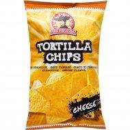 Кукурузные чипсы «Тortilla Chips» со вкусом сыра, 200 г.