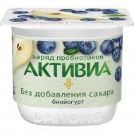 Биойогурт «Активиа» груша-черника, 2.9%, 150 г