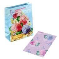 Набор для упаковки подарка «Восхитительные цветы» 865749.