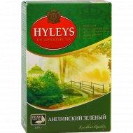 Чай зеленый «Hyleys» крупнолистовой 100 г.