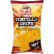 Кукурузные чипсы «Тortilla Chips» со вкусом чили, 200 г.