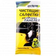 Чистящие салфетки «Eclips» для пластиковых панелей 25 шт.