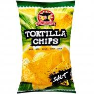 Кукурузные чипсы «Тortilla Chips» с солью, 200 г.
