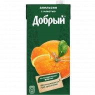 Нектар «Добрый» апельсиновый 2 л.