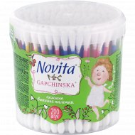 Косметические ватные палочки «Novita Gapchinska» 200 шт.