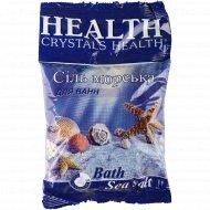 Соль для ванн «Health» натуральная, 500 г.