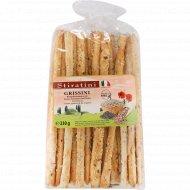 Хлебные палочки «Гриссини» с кунжутом и маком, 230 г.