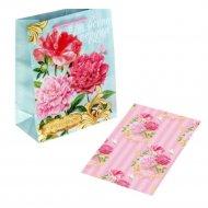 Набор для упаковки подарка «Чарующий пион» 865754.