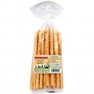 Хлебные палочки «Гриссини» с кунжутом, 150 г.