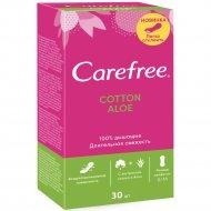 Салфетки ежедневные «Carefree» гигиенические, 30 шт.