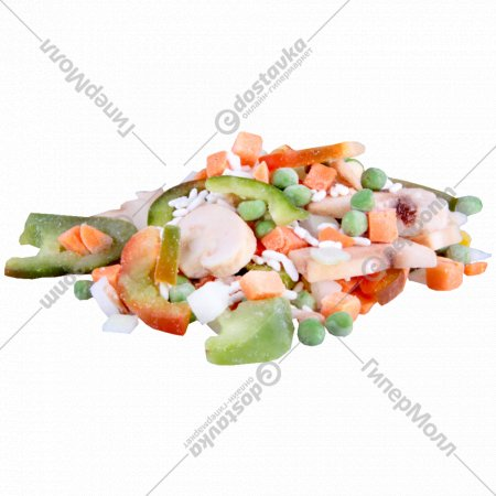 Овощи «Bauer» рис и шампиньоны 1 кг., фасовка 0.3-1.1 кг