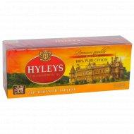 Чай чёрный «Hyleys» английский завтрак, 25 пакетиков.