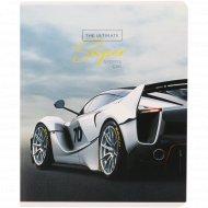 Тетрадь «Авто. Ultimate super cars» клетка, 48 листов.