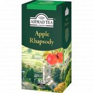Чай черный «Ahmad» с ароматом яблока и мяты, 25х1.5 г.