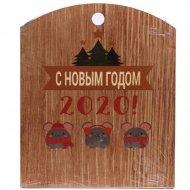 Разделочная доска «Символ года мышь» 24.5х30х0.5 см, арт. BB101700.