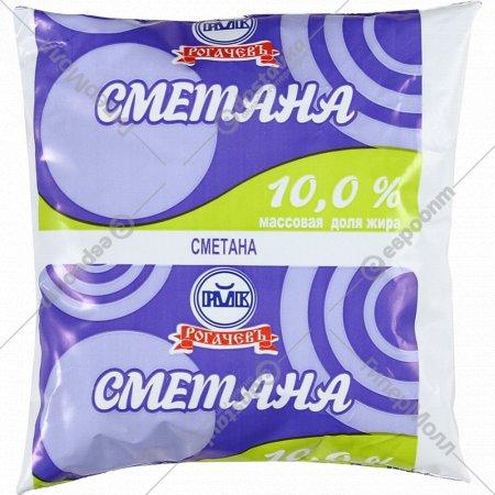 Сметана «Рогачёвъ» 10%, 400 мл.
