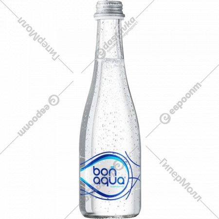 Вода питьевая «Bonaqua» сильногазированная, 0.33 л.