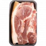 Лопаточная часть «Свиная» на кости, 1 кг., фасовка 0.8-1.1 кг