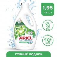 Гель для стирки «Ariel» Горный родник, 1.95 л