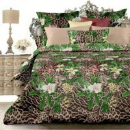 Комплект постельного белья «Unison» Exotic, Евро, 70x70