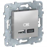 Розетка USB «Schneider Electric» Unica New, NU501830
