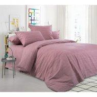 Комплект постельного белья «Моё бельё» Ежевичный, двуспальный, 70x70
