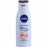 Молочко-уход для тела «Nivea» Цветок сакуры, 200 мл.