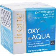 Кислородный крем-гель «Lirene» Oxy in aqua, омолаживающий, 50 мл.