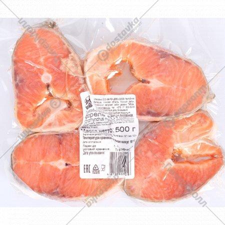 Форель радужная стейк «Баренцово» мороженая, 500 г
