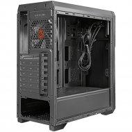 Корпус SL200 «GINZZU» black, Window, ATX/mATX