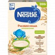 Каша рисовая безмолочная «Nestle» с бифидобактериями, 200 г.