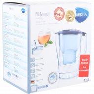 Фильтр-кувшин для очистки воды «Brita» Алуна XL МХ, синий, 3.5 л.
