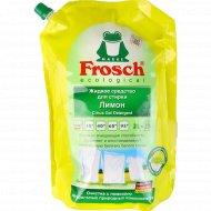 Жидкое средство для стирки «Frosch» лимон, 2 л.