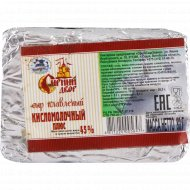 Сыр плавленый пастообразный «Кисломолочный плюс» 45%, 80 г.
