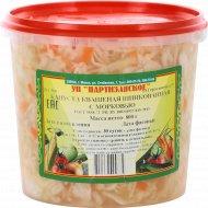 Капуста квашеная шинкованная «Партизанское» с морковью, 800 г.