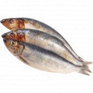 Сельдь атлантическая «РыбаХит» свежемороженная, 1 кг., фасовка 0.8-0.9 кг