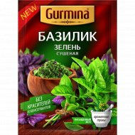 Базилик «Gurmina» зелень сушенная, 10 г.