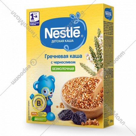 Каша гречневая безмолочная «Nestle» с черносливом 200 г.