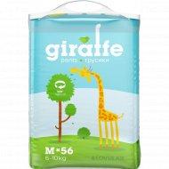 Трусики «Lovular» Giraffe, размер M, 6-10 кг, 56 шт
