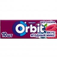 Жевательная резинка «Orbit» Ягодный микс 13.6 г