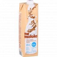 Напиток «Ne moloko» гречневый, классический лайт, 1.5%, 1 л