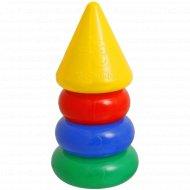 Пирамидка 3 кольца, с конусом.