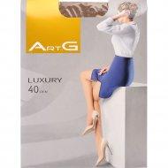 Колготки женские «Art G» luxury 40, caramel, размер 3-M